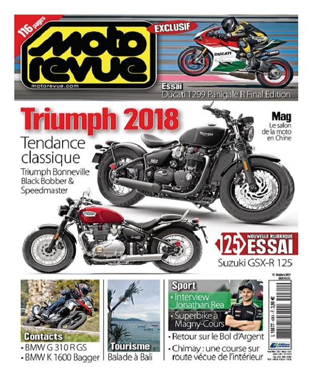 Moto Revue N°4061 Du 11 Octobre 2017