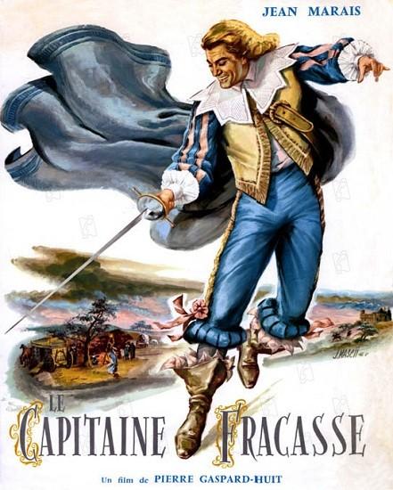 le Capitaine Fracasse 1961 Jean Marais Philippe Noiret Louis De Funes Jean Rochefort Genevieve Grad DVDRIP