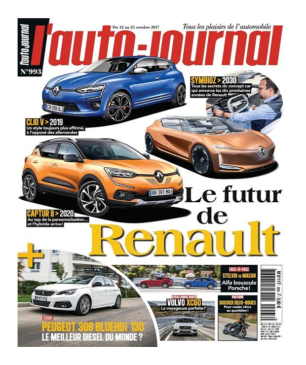 télécharger L'Auto-Journal N°993 Du 12 au 25 Octobre 2017