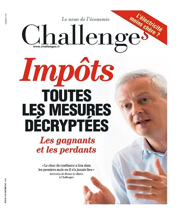 télécharger Challenges N°537 Du 12 au 18 Octobre 2017