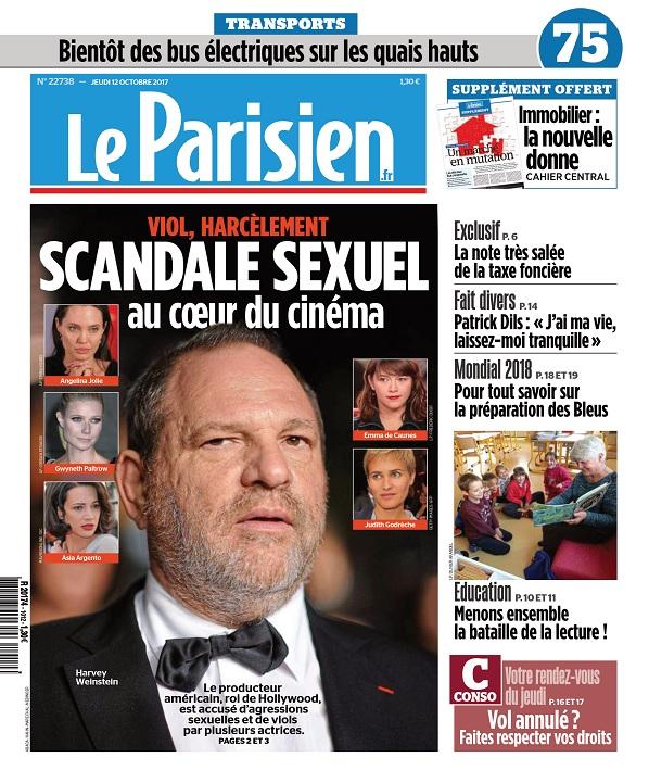 télécharger Le Parisien Du Jeudi 12 Octobre 2017