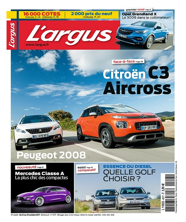 télécharger L'Argus N°4517 Du 12 au 18 Octobre 2017