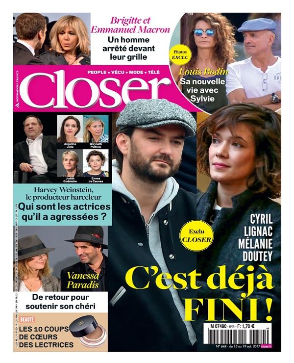télécharger Closer N°644 Du 13 au 19 Octobre 2017