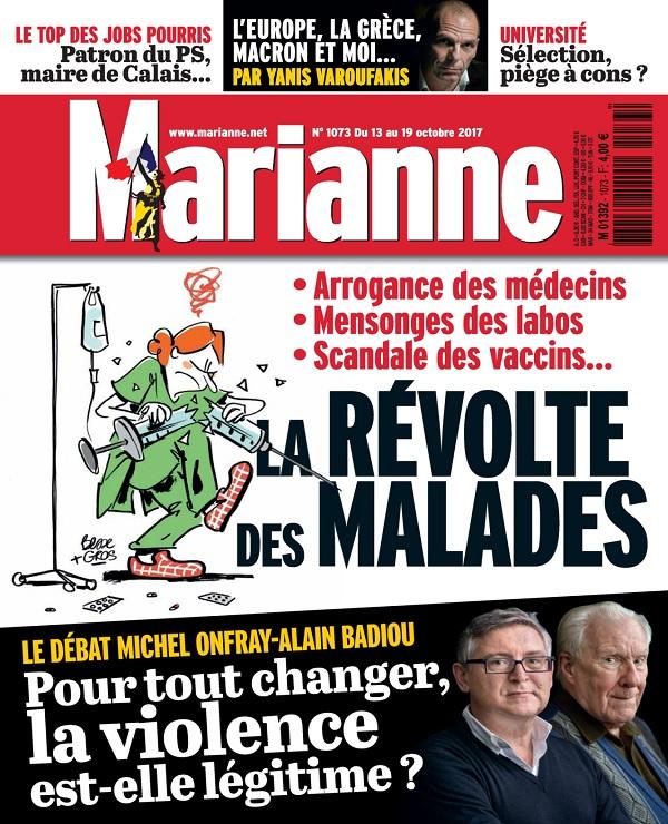 télécharger Marianne N°1073 Du 13 au 19 Octobre 2017