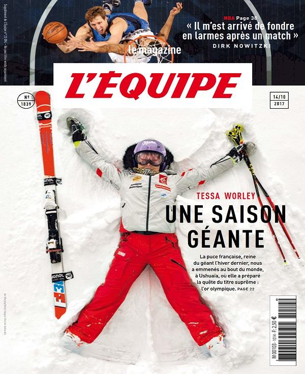 télécharger L'Equipe Magazine N°1839 Du 14 Octobre 2017