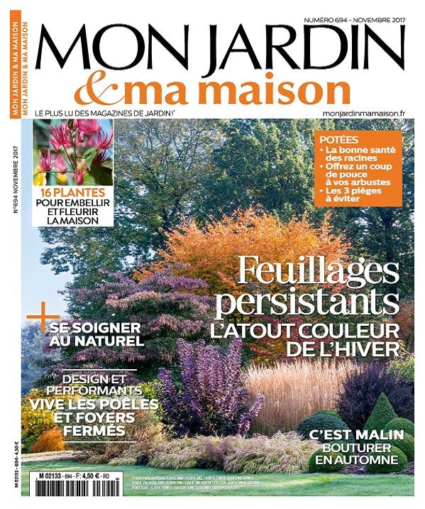 télécharger Mon Jardin et Ma Maison N°694 - Novembre 2017
