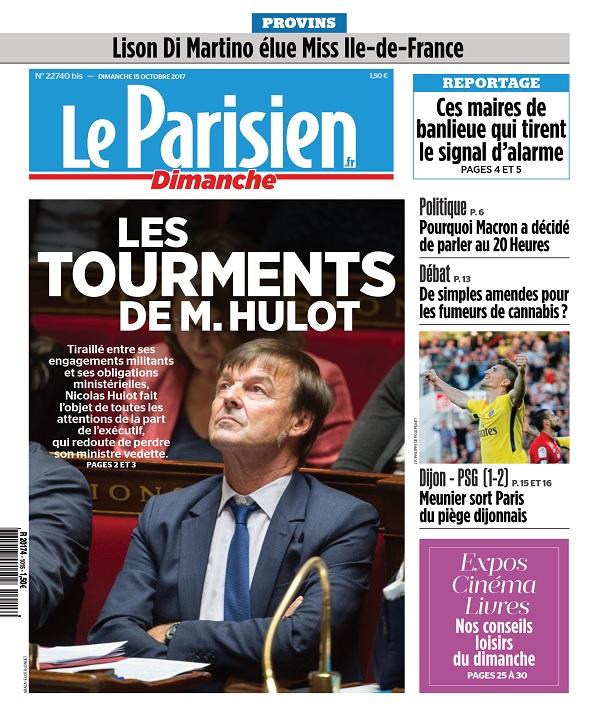 télécharger Le Parisien Du Dimanche 15 Octobre 2017