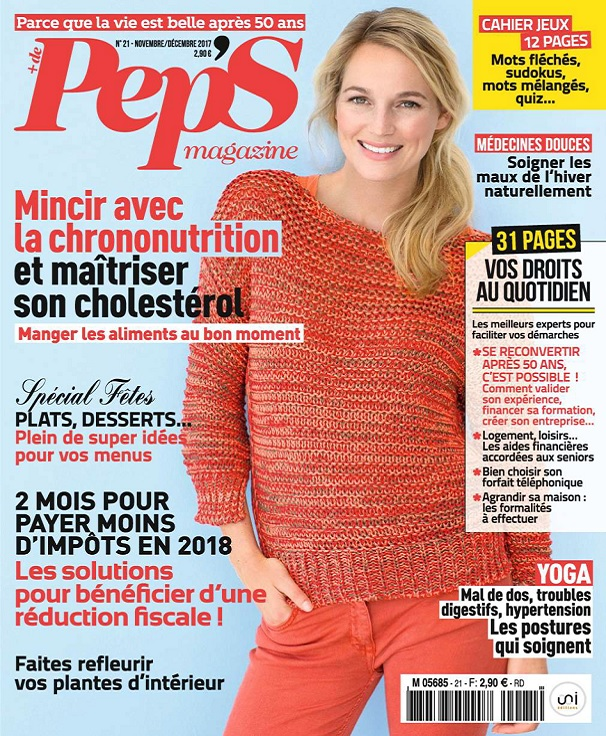 télécharger Pep's N°21 - Novembre-Décembre 2017