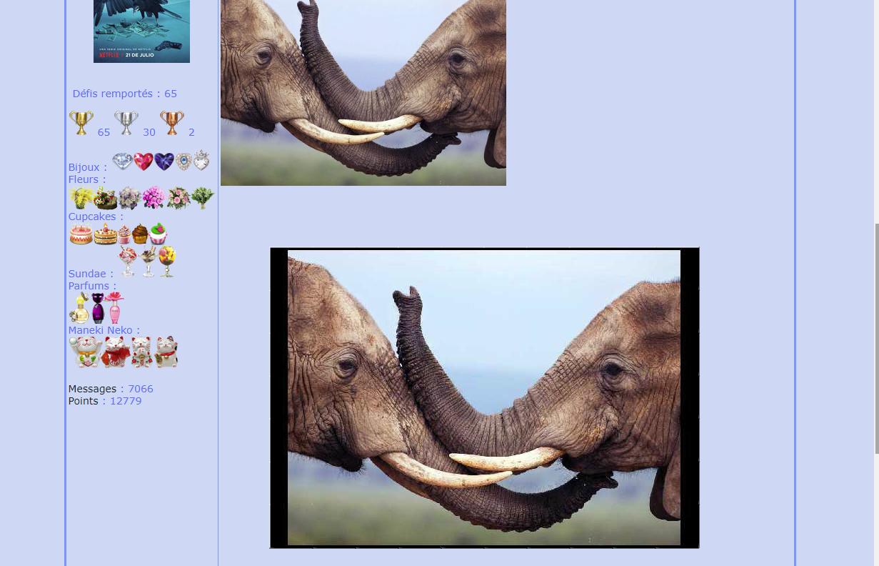 Puzzle #75 / Les éléphants 171015082653558141