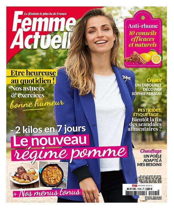télécharger Femme Actuelle N°1725 Du 16 Au 22 Octobre 2017