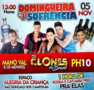 DOMINGO DA SOFRENCIA 300.