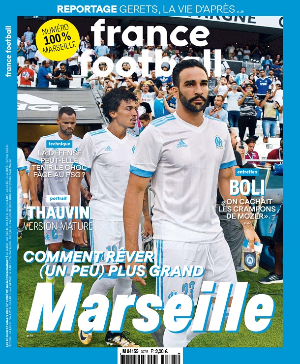 télécharger France Football N°3728 Du 17 Octobre 2017