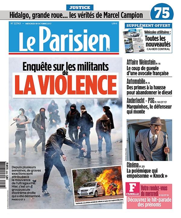 télécharger Le Parisien Du Mercredi 18 Octobre 2017