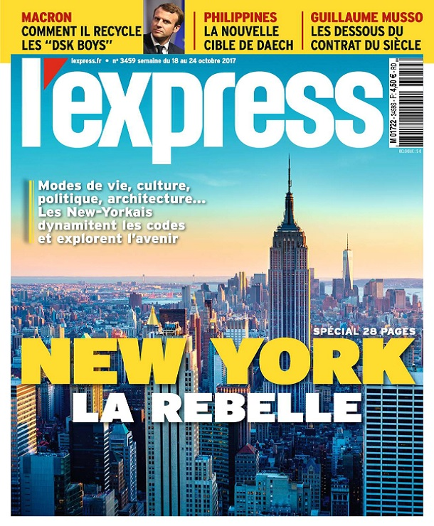 télécharger L'Express N°3459 Du 18 Octobre 2017