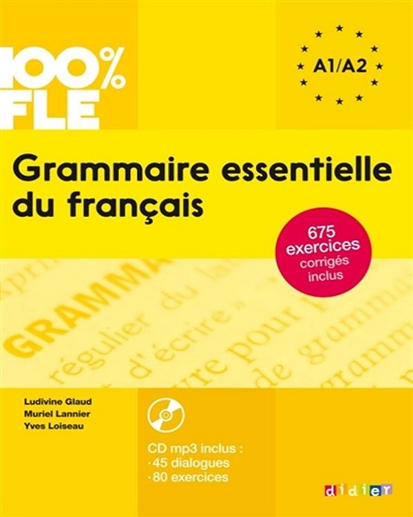 télécharger Grammaire essentielle du français A1/A2 + CD[mp3-128kbps]