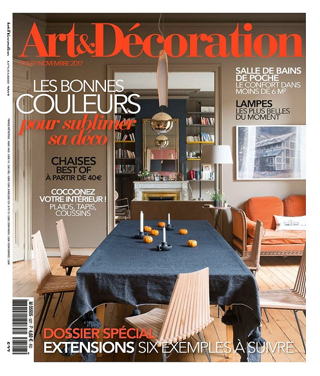 Art Et Décoration N°527 - Novembre 2017 » Telecharger-Magazine.Com