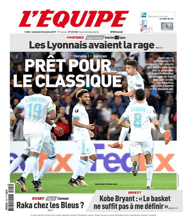 télécharger L'Equipe Du Vendredi 20 Octobre 2017