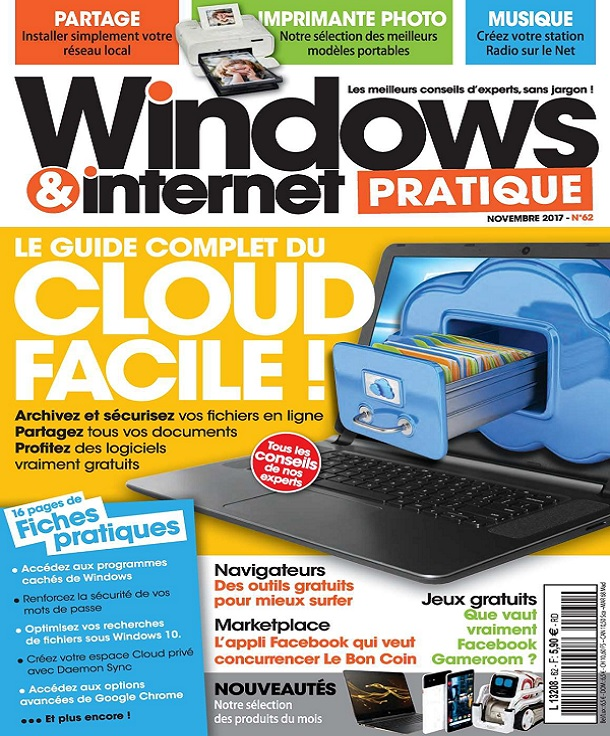 télécharger Windows et Internet Pratique N°62 - Novembre 2017