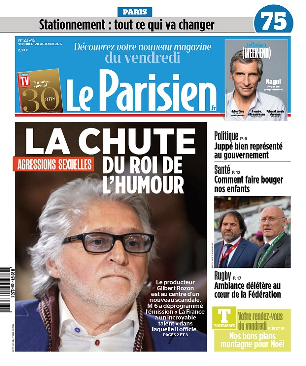 télécharger Le Parisien Du Vendredi 20 Octobre 2017