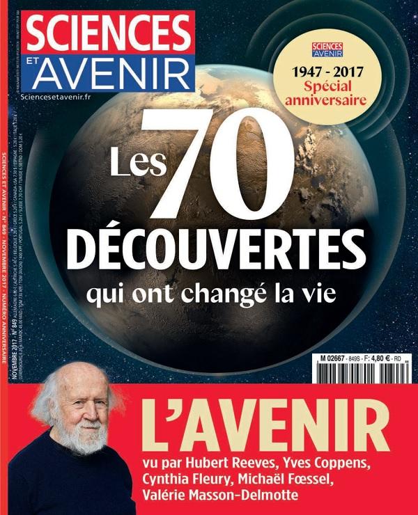 télécharger Sciences et Avenir N°849 - Novembre 2017