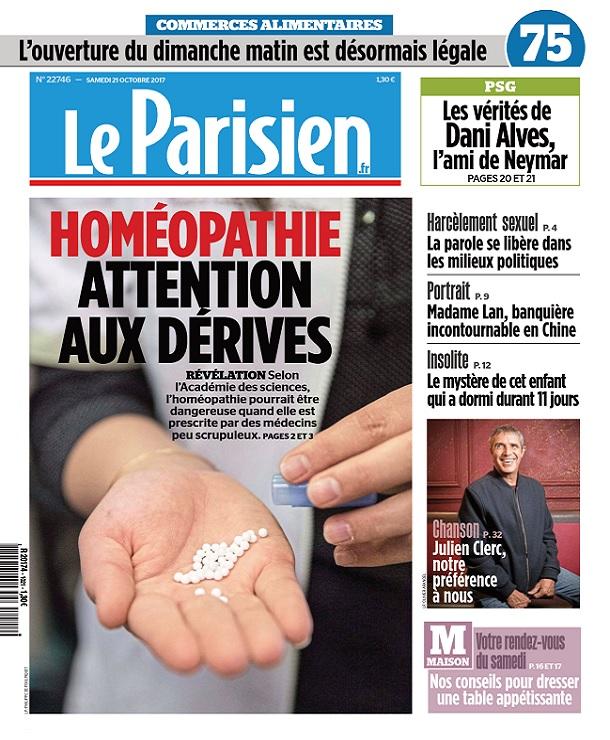 télécharger Le Parisien Du Samedi 21 Octobre 2017