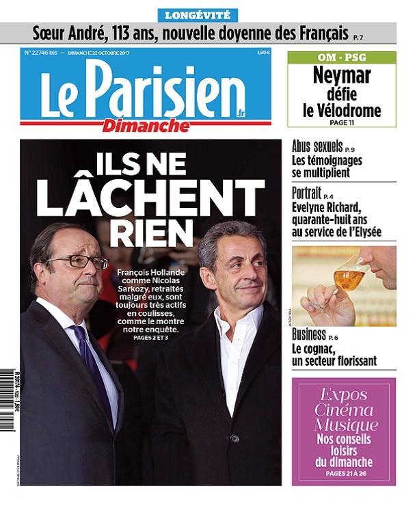 télécharger Le Parisien Du Dimanche 22 Octobre 2017