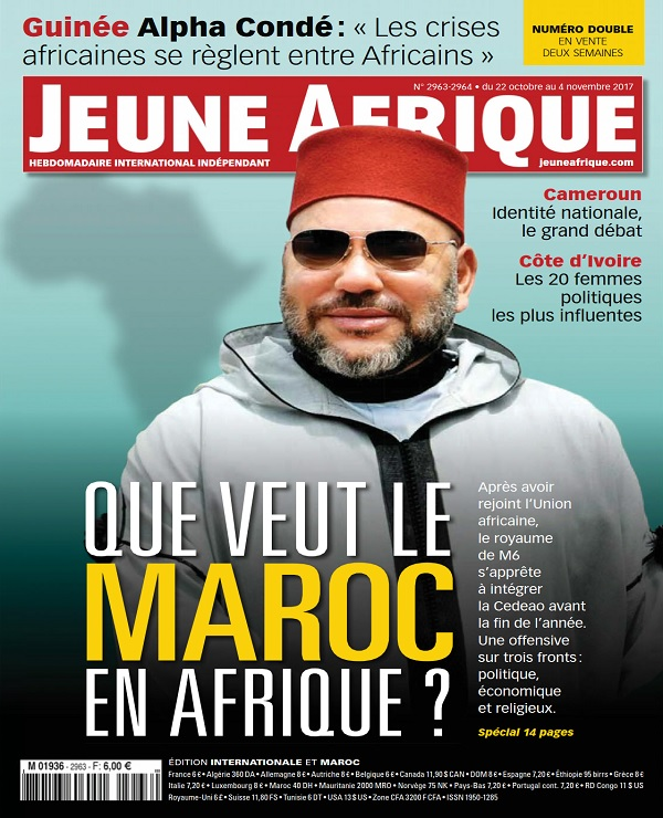télécharger Jeune Afrique N°2963-2964 Du 22 Octobre 2017