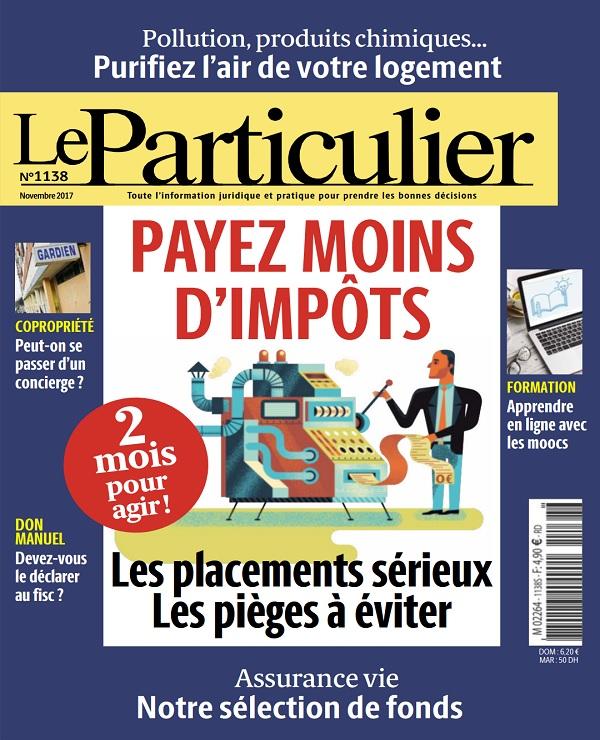 télécharger Le Particulier N°1138 - Novembre 2017