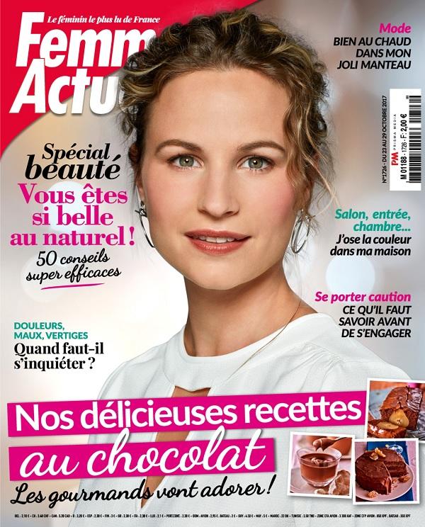 télécharger Femme Actuelle N°1726 Du 23 Octobre 2017