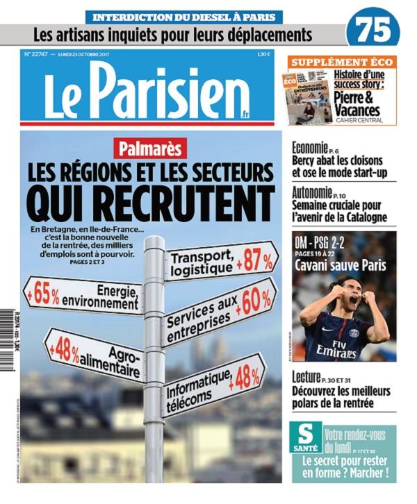 télécharger Le Parisien Du Lundi 23 Octobre 2017