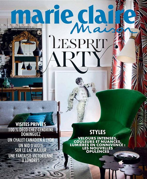 télécharger Marie Claire Maison N°497 - Novembre 2017