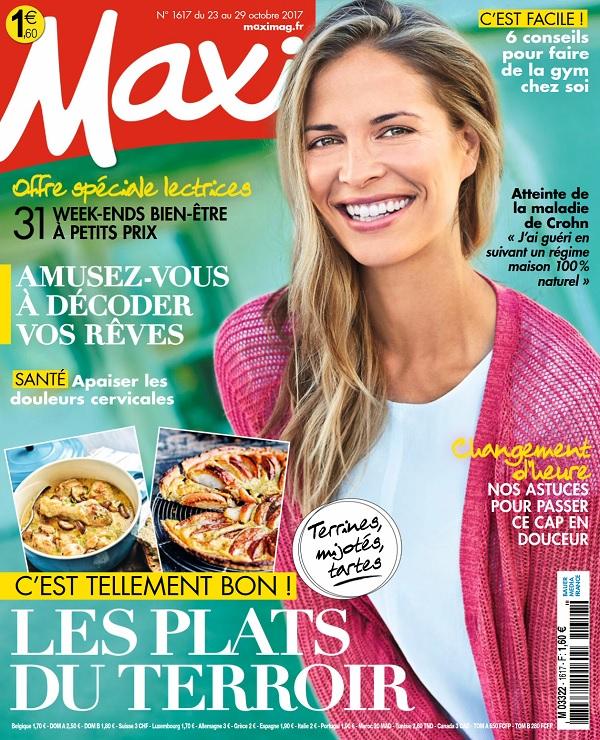 télécharger Maxi N°1617 Du 23 Au 29 Octobre 2017