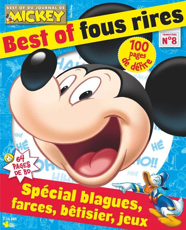 télécharger Le Journal De Mickey Best Of N°8 - Octobre 2017