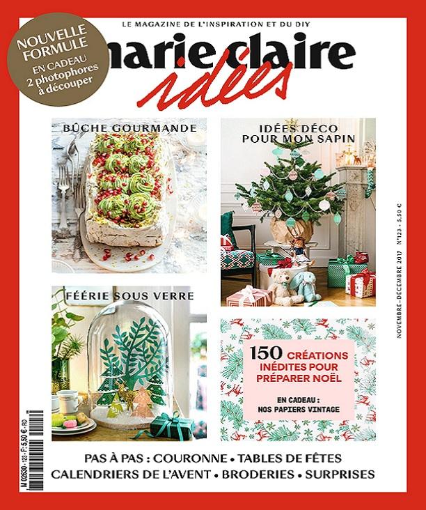 télécharger Marie Claire Idées N°123 - Novembre-Décembre 2017