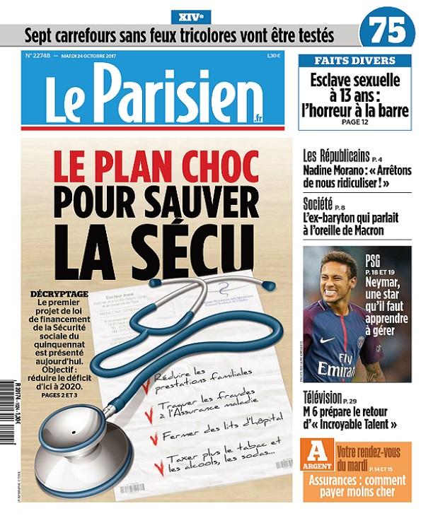 télécharger Le Parisien Du Mardi 24 Octobre 2017
