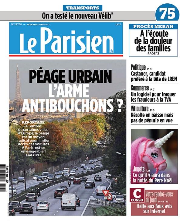 télécharger Le Parisien Du Jeudi 26 Octobre 2017