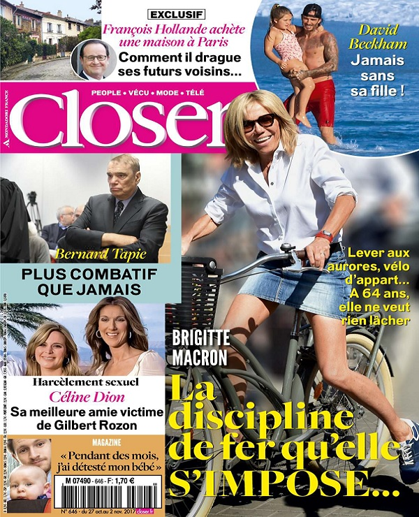 télécharger Closer N°646 Du 28 Octobre 2017