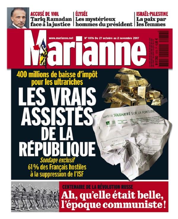 Marianne N°1075 - 26 Octobre Au 2 Novembre 2017