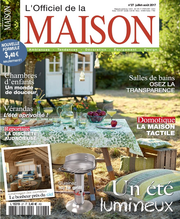 maison et jardin magazine trendy article sur le linge. Black Bedroom Furniture Sets. Home Design Ideas