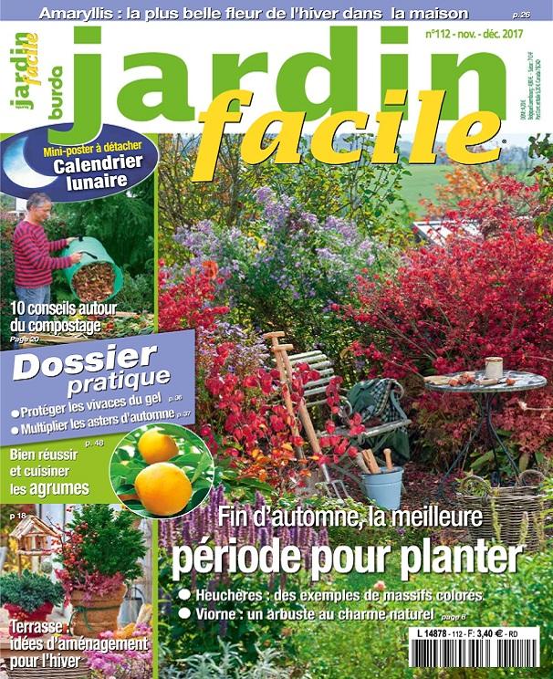 télécharger Jardin Facile N°112 - Novembre-Décembre 2017