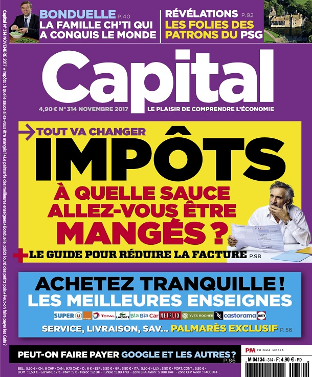 télécharger Capital N°314 - Novembre 2017
