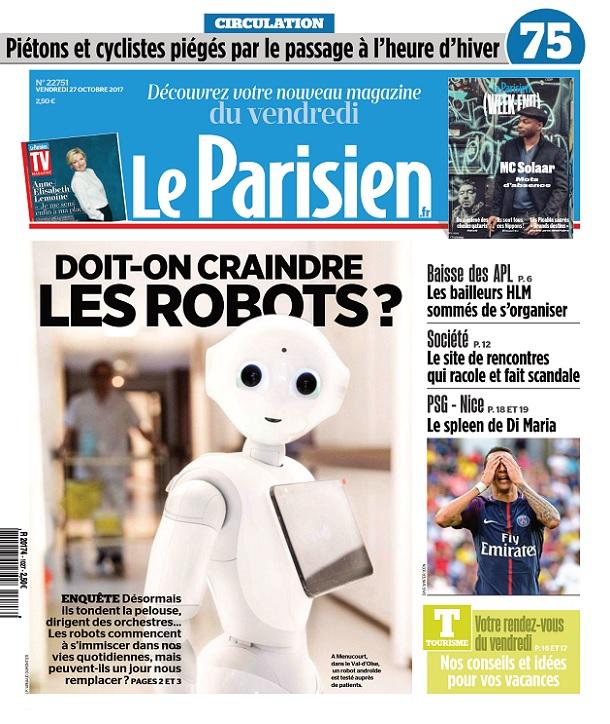 télécharger Le Parisien Du Vendredi 27 Octobre 2017