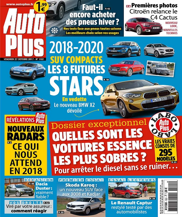 télécharger Auto Plus N°1521 Du 27 Octobre 2017