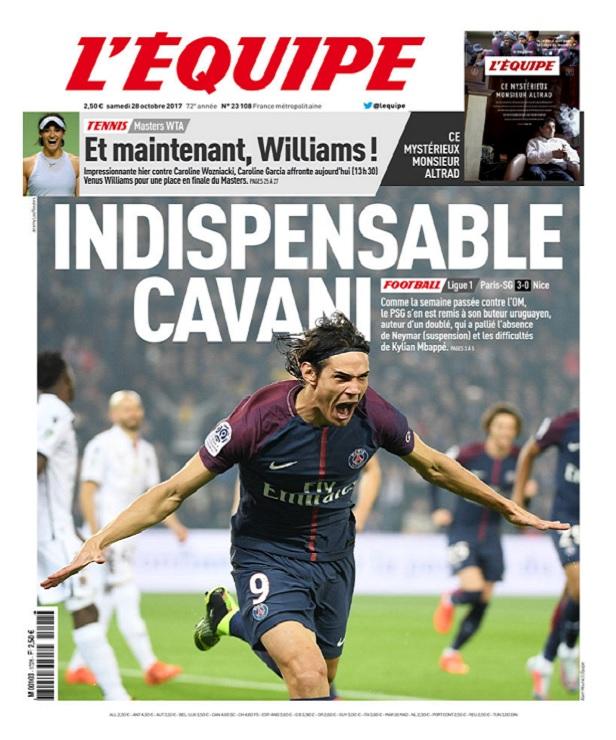 télécharger L'Equipe Du Samedi 28 Octobre 2017