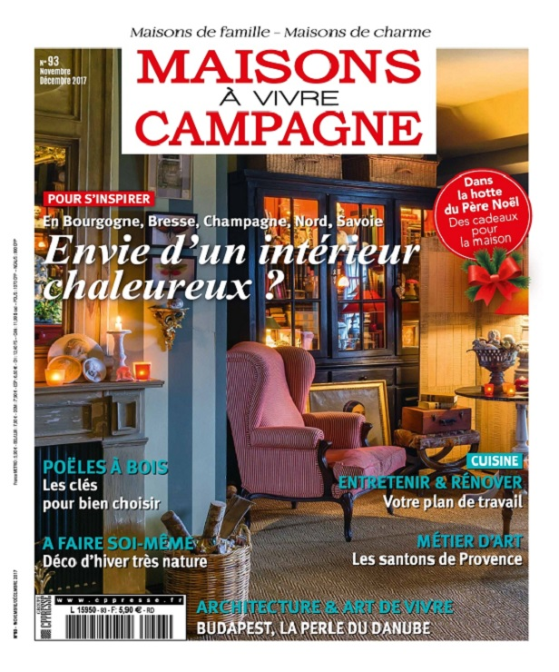 télécharger Maisons à Vivre Campagne N°93 - Novembre-Décembre 2017