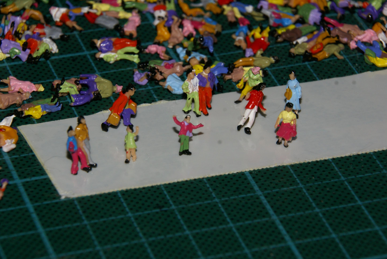Peinture De Figurines Page 3 Forum Des Trains 160 Belges