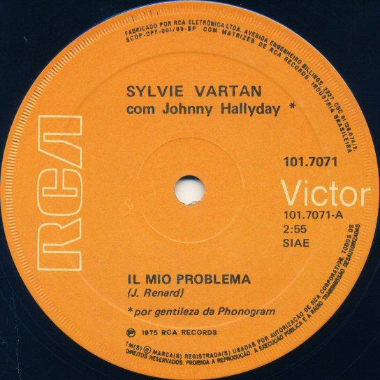 45t Johnny et Sylvie du Brésil 171029052910138300