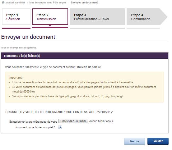 Mode D Emploi Envoyer Un Document A Pole Emploi Infos Articles