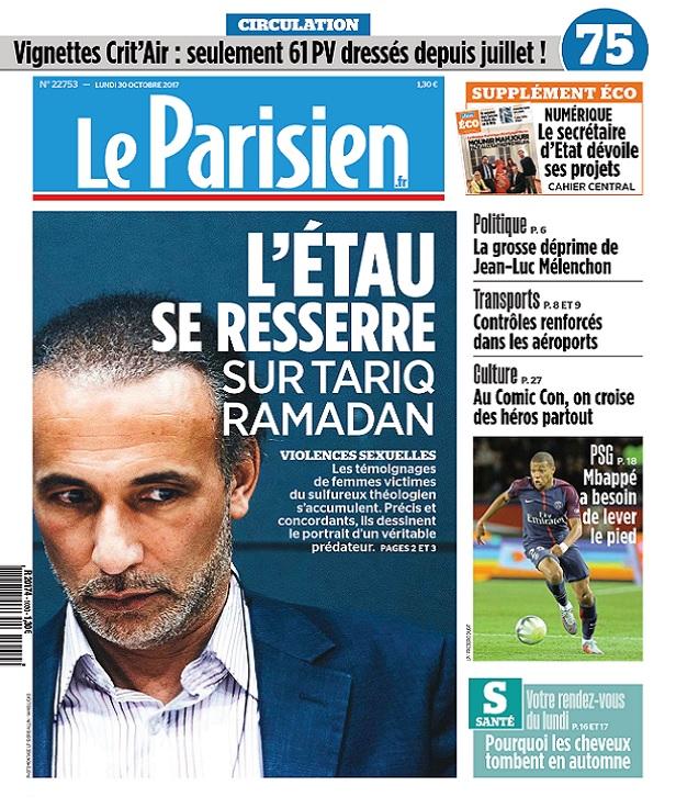 télécharger Le Parisien Du Lundi 30 Octobre 2017