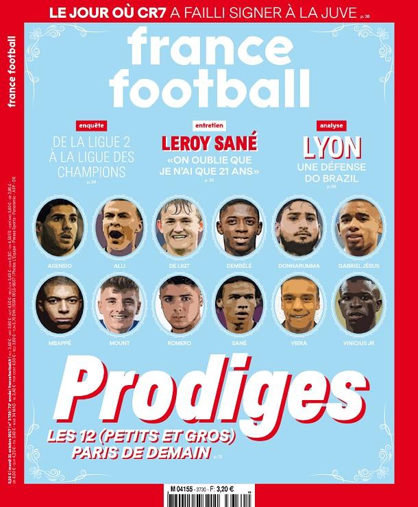 télécharger France Football N°3730 Du 31 Octobre 2017